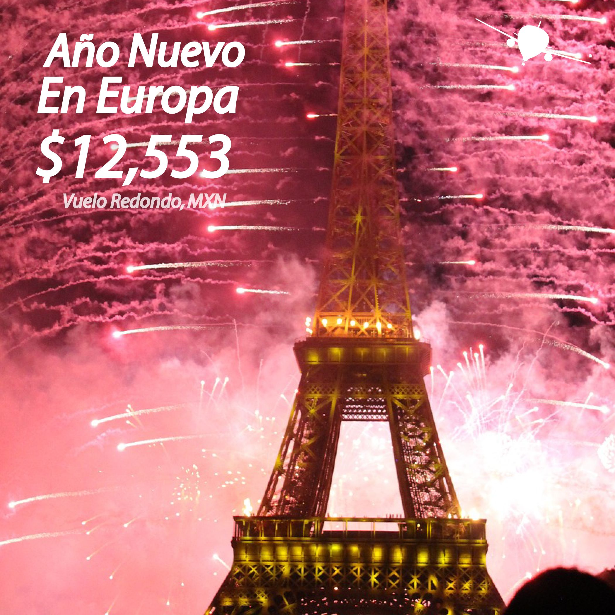 Europa en a o nuevo opciones a londres par s madrid y for Viaje paris barcelona